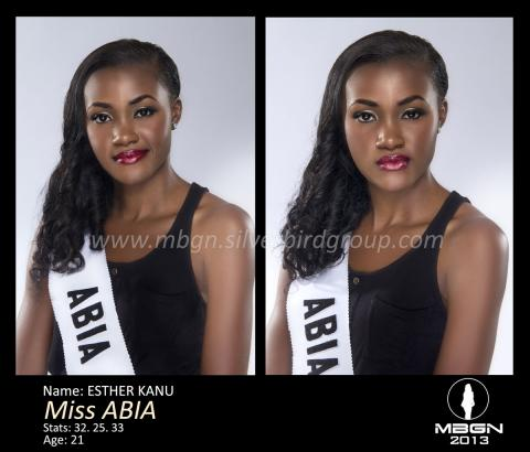Miss-ABIA-MBGN ESTHER KANU