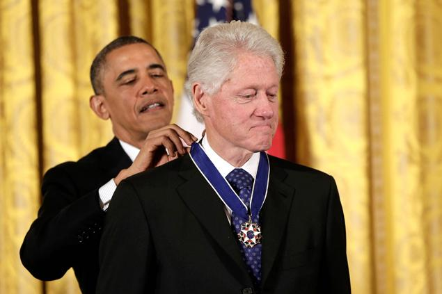 Clinton honoured