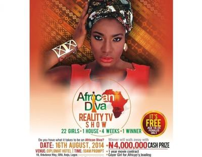 Chika Ike Unveils Own TV Reality Show 2