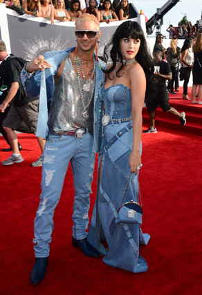 MTV 2014 Riff Raff and Katy Perry
