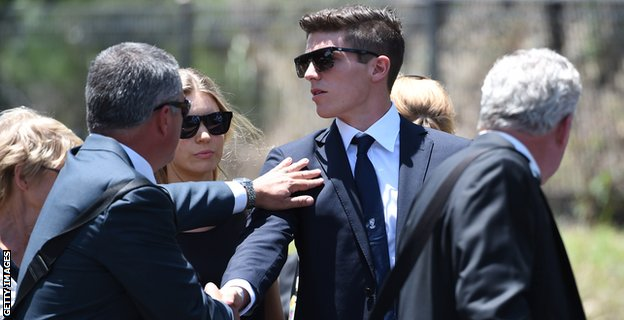Hughes funeral 2