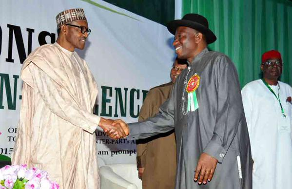 Buhari and Gej embrace 4