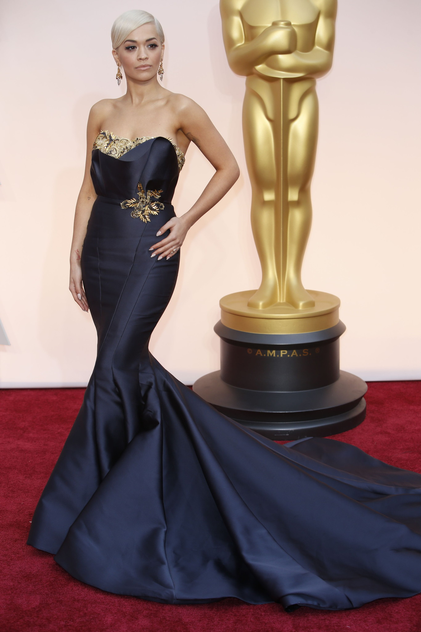 Oscar 2015 Red carpet Rita Ora