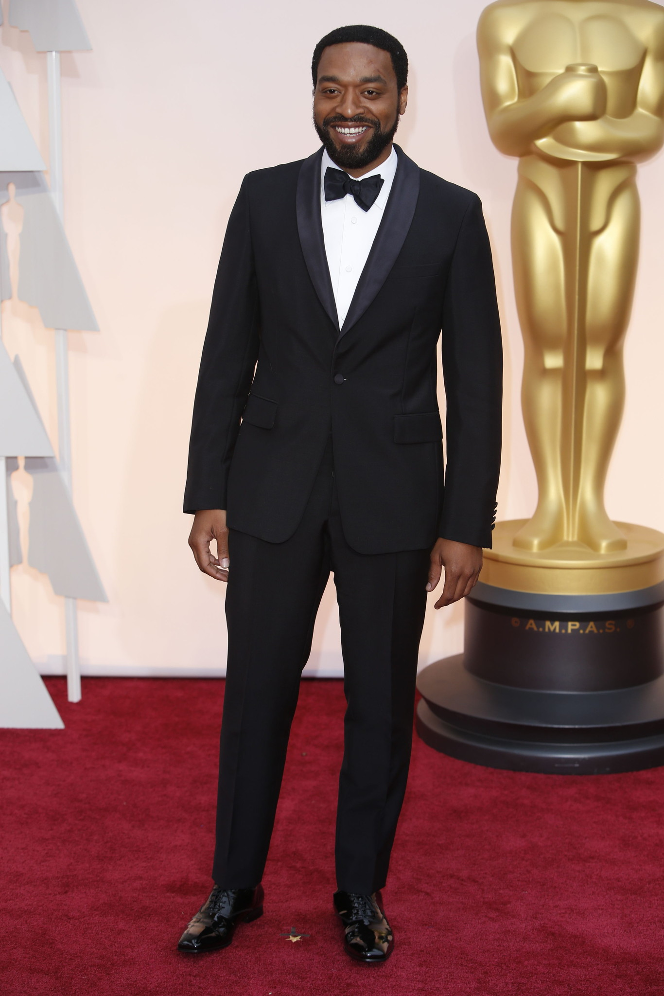Oscar 2015 red carpet Chiwetel Ejiofor