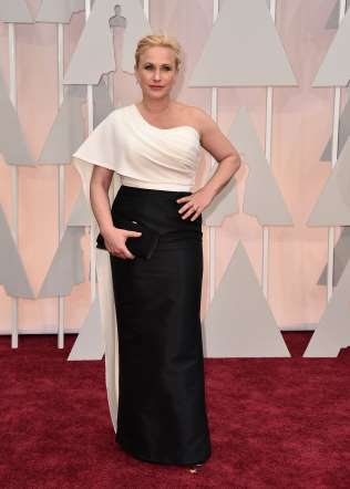 Oscar 2015 red carpet Patricia Arquette