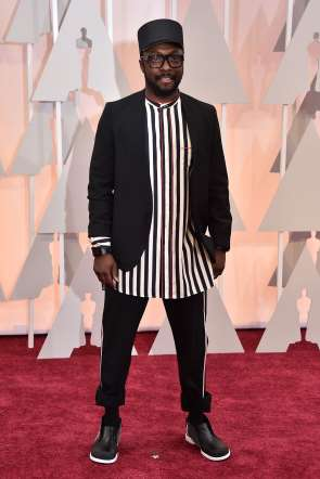 Oscar 2015 red carpet Will.i.am