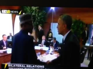 Buhari meets Obama 2