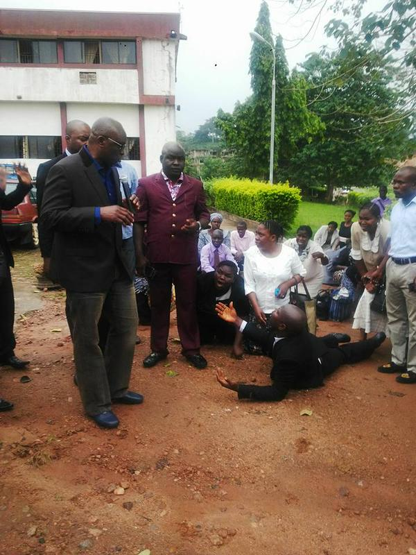 Civil servants made to beg