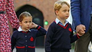princess charlotte first day at school 3