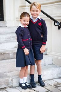 princess charlotte first day at school 4
